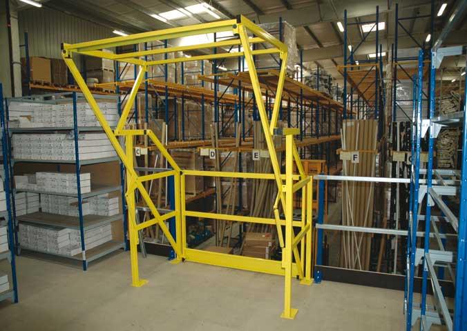 Sogeric fr entrep t industrie plates formes plate forme mezzanin - Barriere pour mezzanine ...