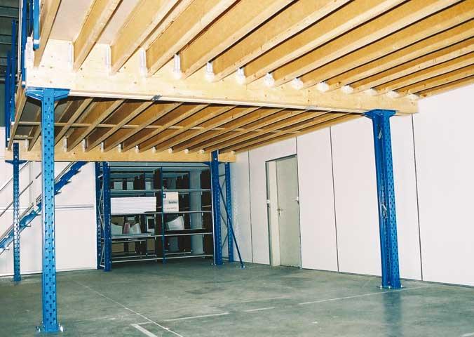 Sogeric fr entrep t industrie plates formes plate for Plateforme mezzanine en kit